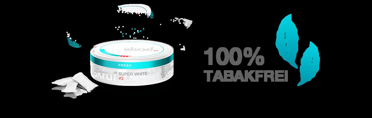 skruf Dose - 100% Tabakfrei